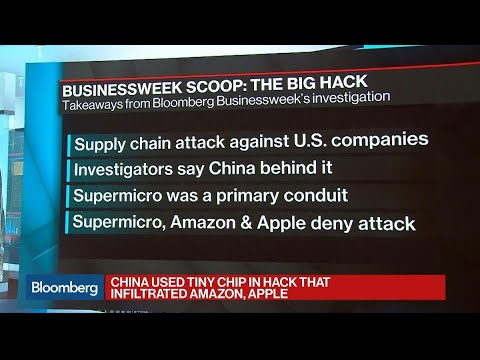 China Used Tiny Chip In Hack That Infiltrated Amazon, Apple