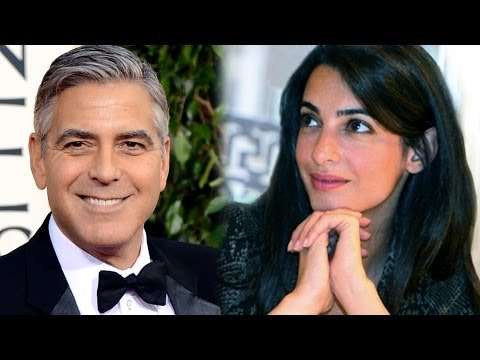 George Clooney Engaged To British Attorney Amal Alamuddin