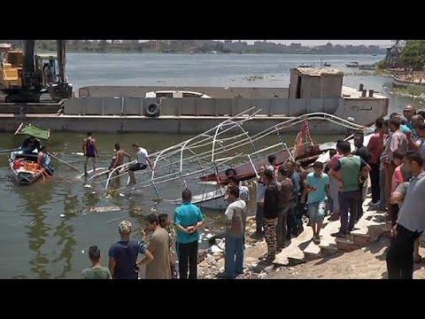 Αίγυπτος: Ναυτική τραγωδία στον Νείλο