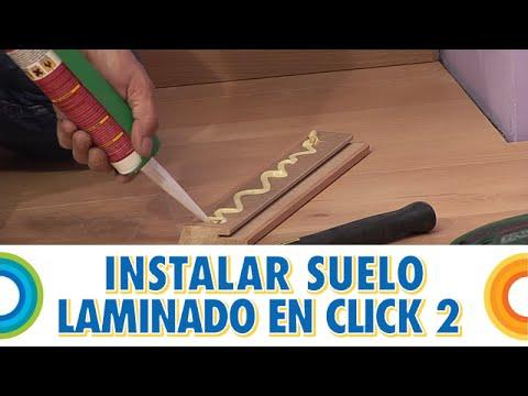 Instalar tarima de suelo o piso laminado en click 2 - Obstáculos y remates (BricocrackTV)