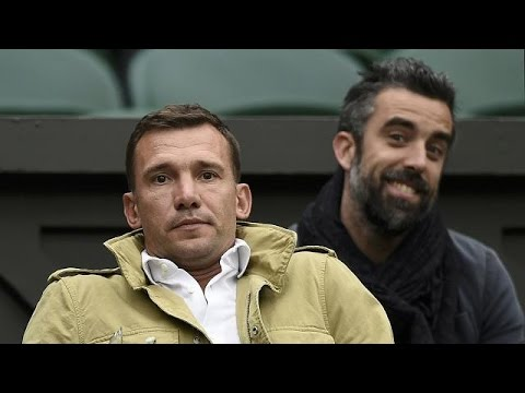 Andriy Shevchenko appointed Ukraine head coach