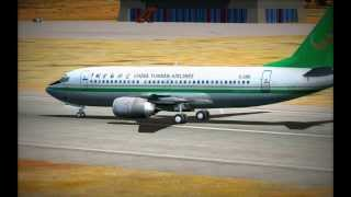 Diqing China  city photos gallery : 【HD FSX】 China Yunnan Airlines Boeing B737-300 Landing at Diqing Shangri-La Airport