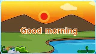 สื่อการเรียนการสอน เพลงภาษาอังกฤษ good morning ป.2 ภาษาอังกฤษ