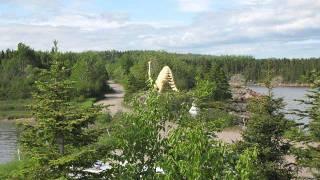 Baie-Comeau (QC) Canada  city pictures gallery : Traversée baie-comeau / Matane Québec