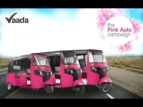 transport bid - Pink Auto Campaign: Transport for the women, by the women, of the women... Hyderabad will soon have a mode of transport exclusively for women. In a bid to im...