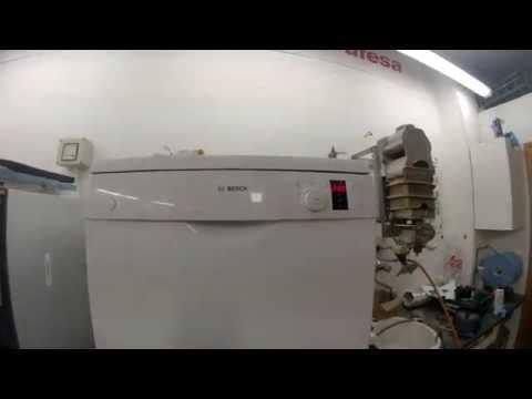 Error E24 en Lavavajillas Balay Bosch Siemens (видео)