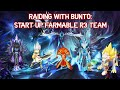 Summoners war - Bunto's noob guide - start up raid 3 team with farmable monsters