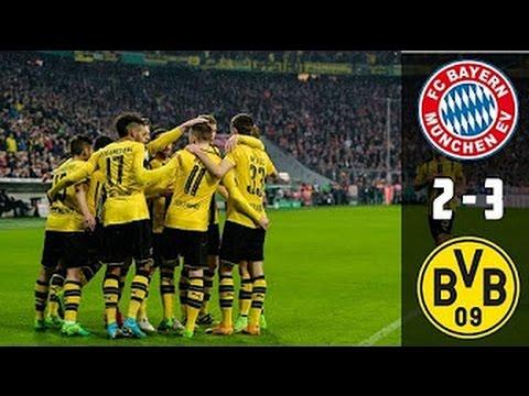 Bayern Munich Vs Borussia Dortmund 2-3 All Goals & Highlights |HD|