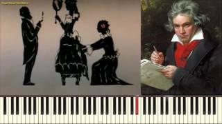 К Элизе - Л. Бетховен (Fuer Elise - Beethoven) (Пример игры на пианино) (piano cover)