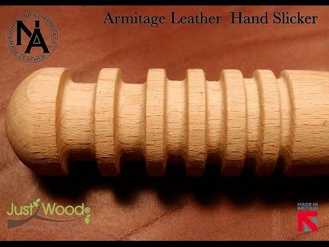 Armitage Leather Hand Slicker (видео)