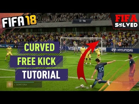 FIFA 18 Curved Free Kick Tutorial
