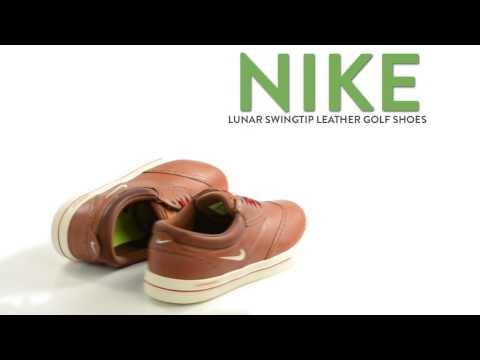 Nike Lunar Swingtip Leather Golf Shoes (For Men)