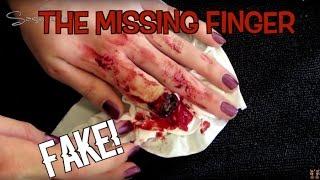 MISSING FINGER?! | SFX MAKEUP
