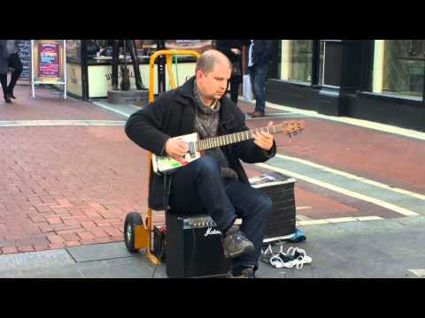 Video Brian Lea playing a Recycled Oil Can Guitar download in MP3, 3GP, MP4, WEBM, AVI, FLV January 2017