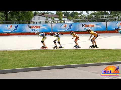Чемпіонат Польщі 2011. Юніорки С - 3000м гонка на вибування.