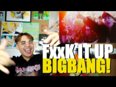 Video BIGBANG - FXXK IT MV Reaction [FxxK IT UP BIGBANG!] download in MP3, 3GP, MP4, WEBM, AVI, FLV January 2017