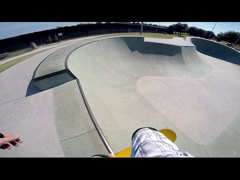 Arlington Skatepark Review - Vandergriff Park in Arlington, TX