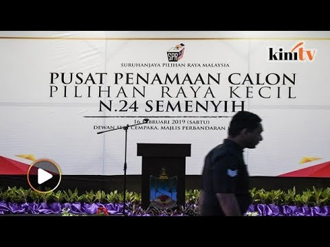 LIVE: Semenyih by-election nomination day
