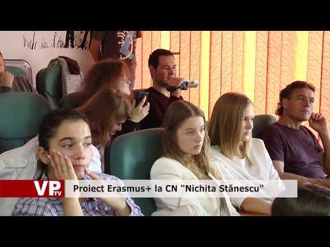 "Proiect Erasmus+ la CN ""Nichita Stănescu"""