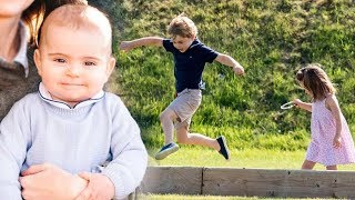 Prince George, Princess Charlotte & Prince Louis enjoyed a fun day out revealed