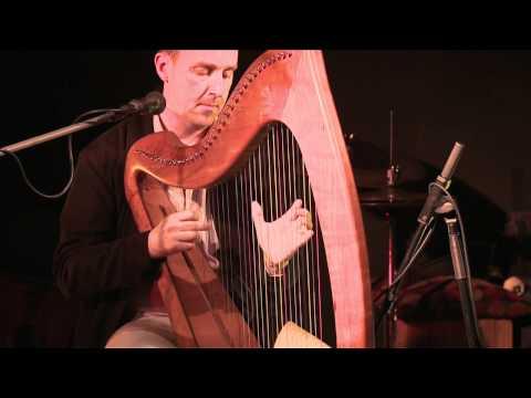 Michael Rooney plays Harp: Traditional Irish music from LiveTrad.com