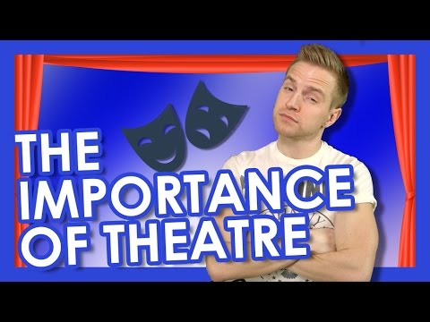 The Importance of Theatre | TYLER MOUNT (видео)