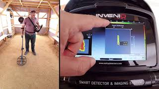 Invenio - Detection of a 50cm long 8mm rebar