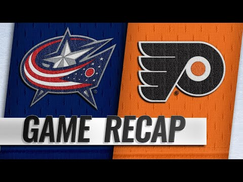 Jones, Blue Jackets take down Flyers in overtime, 4-3