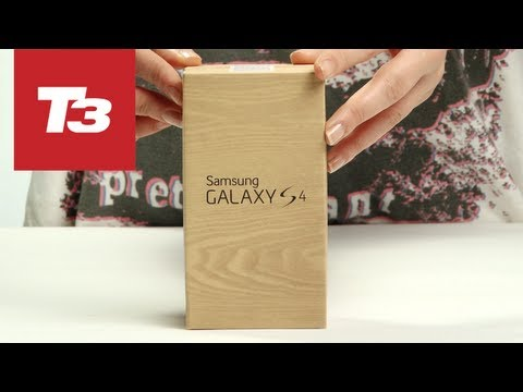 Samsung Galaxy S4 unboxing. Only a couple of days to go before the big onsale date but what will you get inside the box? We rip it open