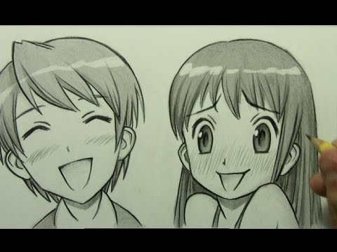 How to draw anime / Manga Facial Expression