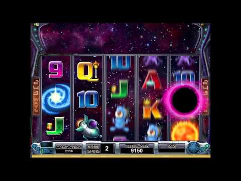 Galacticons online video slot game