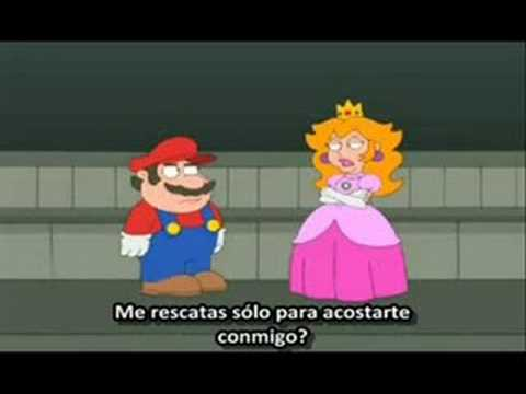 Mario Bros salva a la Princesa