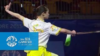 Nonton Wushu - Women's Optional Sword (Day 2) | 28th SEA Games Singapore 2015 Film Subtitle Indonesia Streaming Movie Download