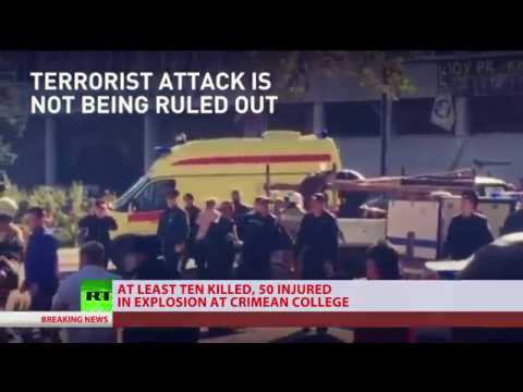 Special Coverage: Terror Attack At Crimean College Leaves 13 Killed, 50 Injured