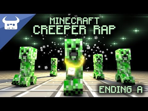 The Minecraft Creeper Rap