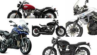 5. Triumph bikes price list india