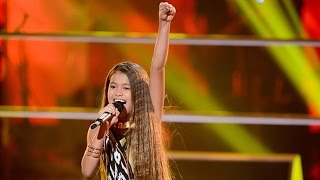 Alexa gave an electric performance of Alicia Keys' R&B ballad. Go to www.thevoicekids.com.au for more news, videos and...