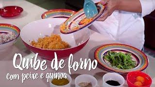 Experimente – Quibe de forno com peixe e quinoa