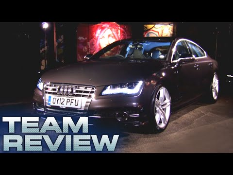 Team Review: The Audi S7 – Fifth Gear