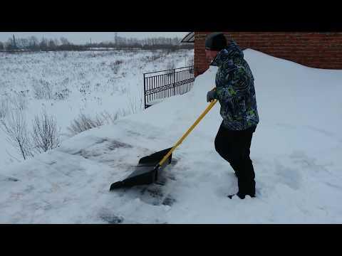 Как сделать волокушу для снега