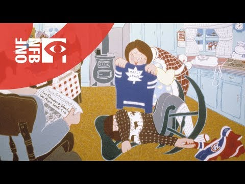 nfb - An animated version of a short story by Roch Carrier, who narrates this tale based on his boyhood experiences in rural Quebec. Imagine a young boy's chagrin ...