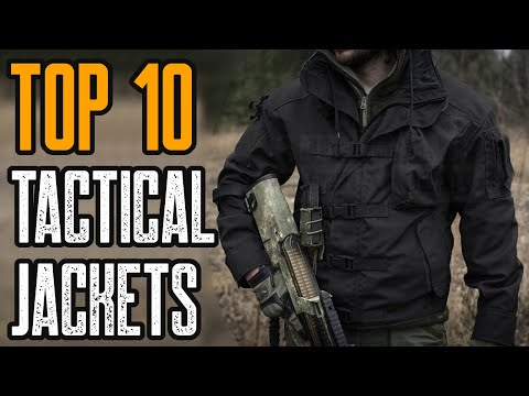 Top 10 Best Tactical Jacket 2019 You Must See видео