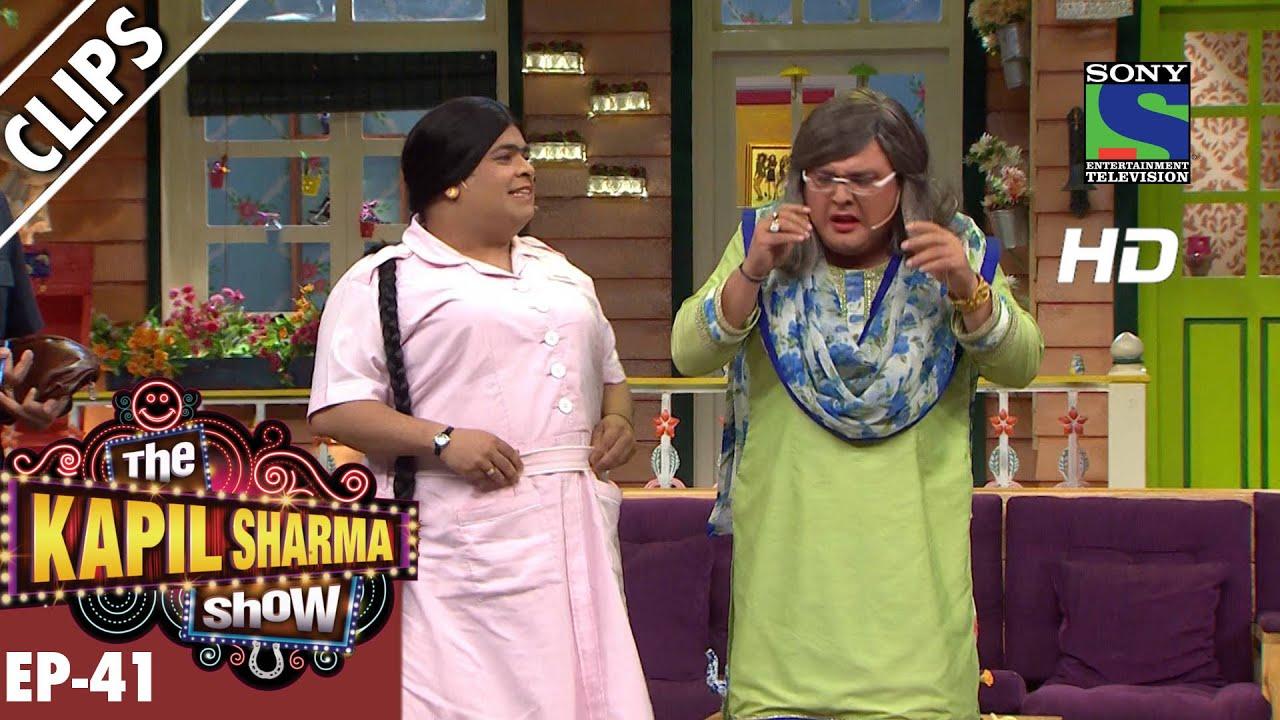 Meet Bumper Nurse And Pushpa Nani – The Kapil Sharma Show – Episode 41 – 10th September 2016