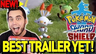BEST NEW TRAILER! Pokemon Sword and Shield Switch Lite Unboxing! #BringBackNationalDex by aDrive