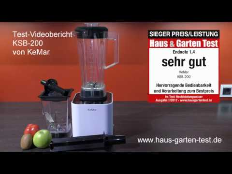 Hochleistungsmixer KeMar KSB-200 - Testvideo