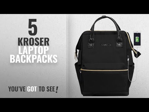 Kroser Laptop Backpacks [2018]: KROSER Laptop Backpack 15.6 Inch Daypack With USB Port/Water
