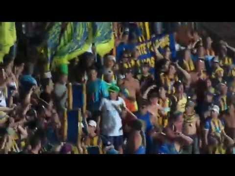 Video - Rosario Central - Los Guerreros Entrando En San Juan - Final Copa Argentina 2014 - Los Guerreros - Rosario Central - Argentina