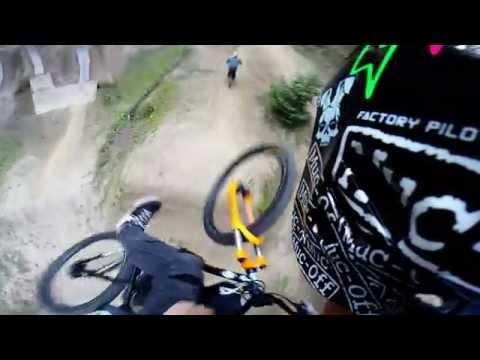 GoPro: Slovenia RedBull Wild Ride Preview course (видео)
