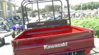 6. 2009 KAWASAKI MULE 4010 DIESEL