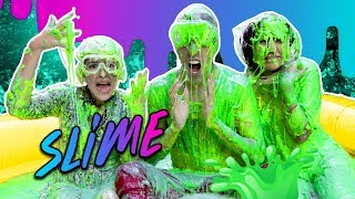 Video 100 LITERS OF  SLIME | LOS POLINESIOS VLOGS *ENGLISH* MP3, 3GP, MP4, WEBM, AVI, FLV Desember 2017